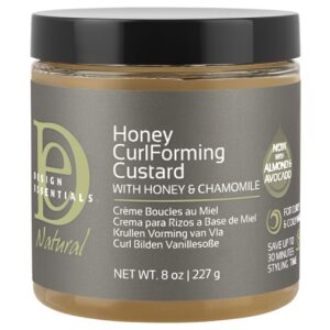 Design Essential Almond & Avacado Honey Curl Forming Custard